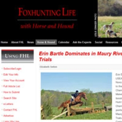 Erin Bartle Dominates in Maury River Hunter Trials
