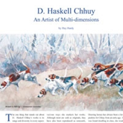 D. Haskell-Chhuy: An Artist of Multi-dimensions