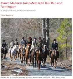 March Madness Joint Meet with Bull Run & Farmington