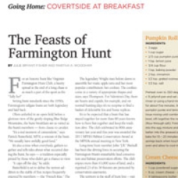 Feasts of Farmington Hunt