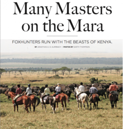Many Masters on the Mara