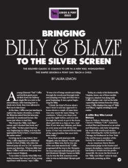 Bringing Billy & Blaze to the Silver Screen