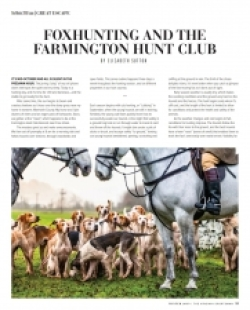 Foxhunting and The Farmington Hunt Club
