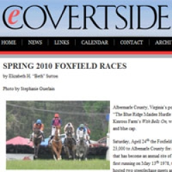 Spring 2010 Foxfield Races