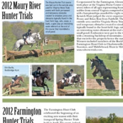 2012 Maury River Hunter Trials